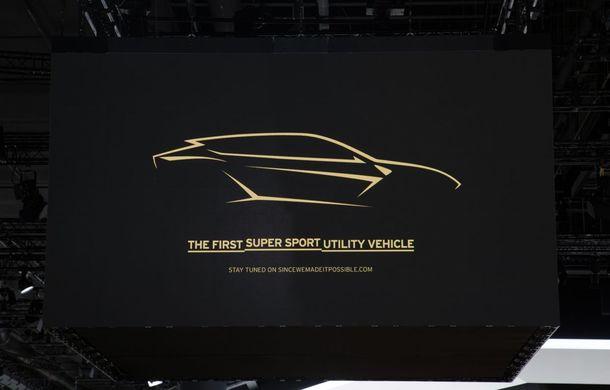 Lamborghini Urus: primul teaser video cu viitorul SUV italian - Poza 1