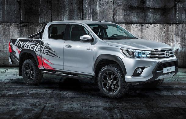 Toyota Hilux Invincible 50: ediție aniversară pentru pick-upul nipon - Poza 1