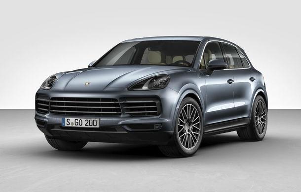 Porsche se gândește la un model Cayenne Coupe: competiție pentru BMW X6 și Mercedez GLE Coupe - Poza 1