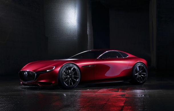 Mazda nu renunță la ideea unei sportive cu motor rotativ: japonezii lansează o versiune revizuită a lui RX Vision în cadrul Salonului Auto de la Tokyo - Poza 1