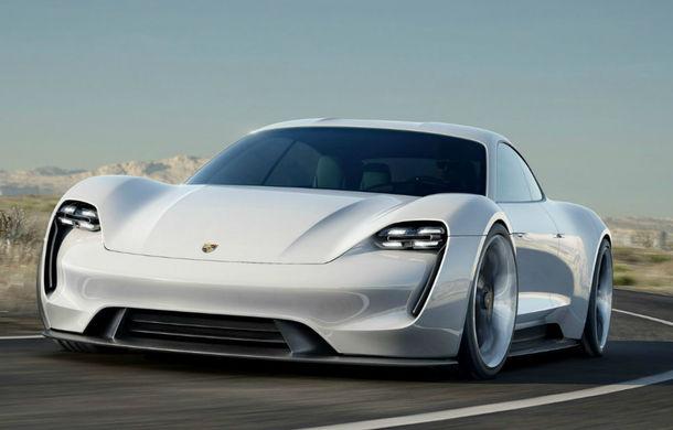 Mission E, primul model electric de la Porsche, ajunge pe piață în 2019 - Poza 1