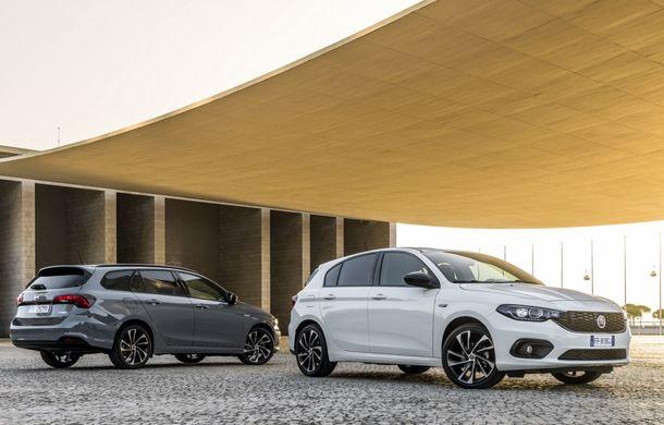 Estetică revizuită: Fiat Tipo poate fi comandat în versiunea S-Design - Poza 1