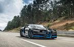 Cum filmezi un Bugatti Chiron care rulează cu 400 km/h? Simplu: cu un alt Chiron