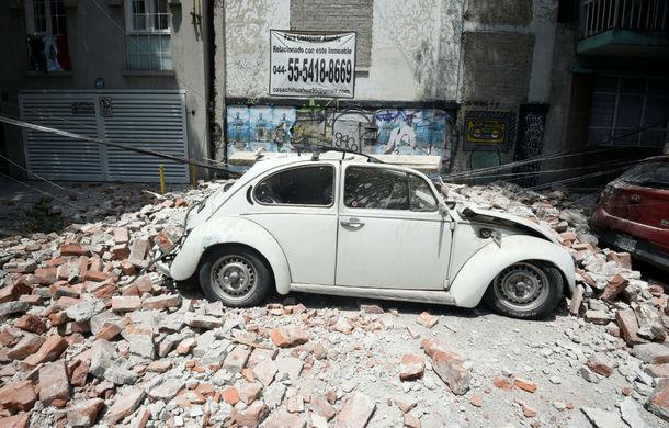 Efectele cutremurului din Mexic: Volkswagen și Audi au oprit producția, angajații nu au fost răniți - Poza 1