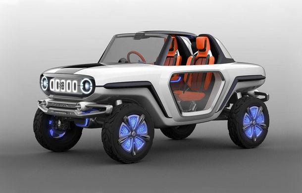 Suzuki nu uită de pasionații de off-road: e-Survivor este un concept electric și poate face față ieșirilor în teren accidentat - Poza 1