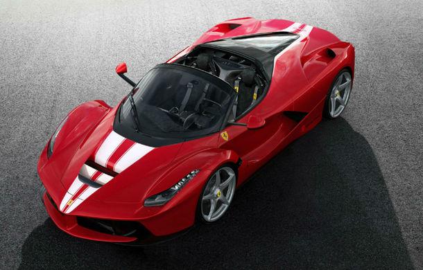Ajuns pe mâna unui dealer: Un exemplar Ferrari LaFerrari Aperta costă peste 7 milioane de dolari în Dubai - Poza 1