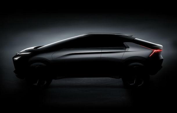 Mitsubishi e-Evolution Concept: Japonezii ne arată un nou teaser pentru SUV-ul coupe electric și autonom - Poza 2