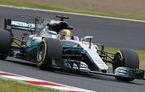 Hamilton, pole position la Suzuka în fața lui Vettel. Raikkonen și Bottas, penalizați cu câte 5 poziții pe grilă