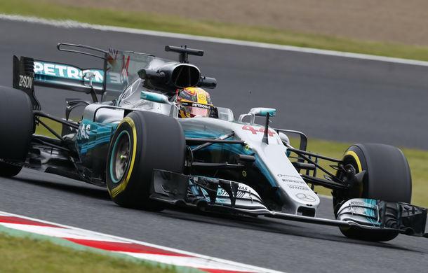 Hamilton, pole position la Suzuka în fața lui Vettel. Raikkonen și Bottas, penalizați cu câte 5 poziții pe grilă - Poza 1