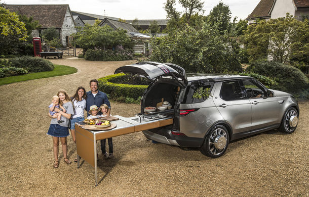 Un Land Rover Discovery croit după chipul și asemănarea lui Jamie Oliver: visul oricărui chef pasionat de mașini - Poza 2