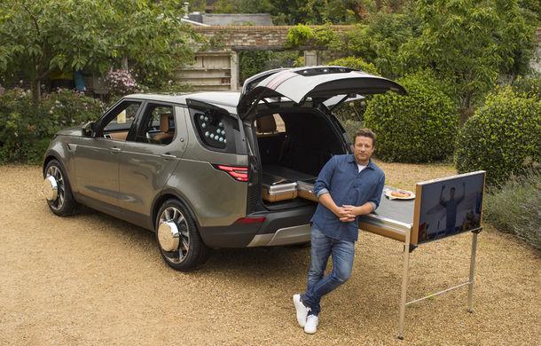 Un Land Rover Discovery croit după chipul și asemănarea lui Jamie Oliver: visul oricărui chef pasionat de mașini - Poza 14