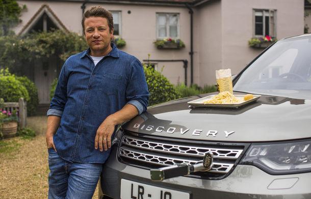 Un Land Rover Discovery croit după chipul și asemănarea lui Jamie Oliver: visul oricărui chef pasionat de mașini - Poza 15
