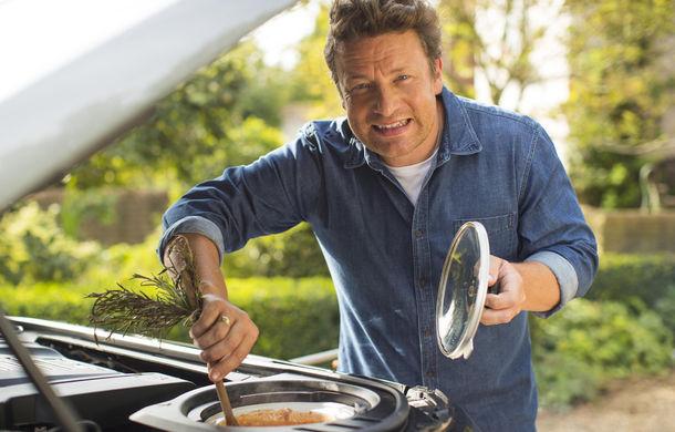 Un Land Rover Discovery croit după chipul și asemănarea lui Jamie Oliver: visul oricărui chef pasionat de mașini - Poza 10