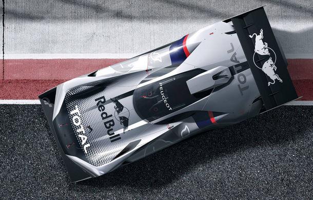 Prototip pentru pasionații de jocuri video: Peugeot a prezentat noul L750 R Hybrid Vision Gran Turismo - Poza 7