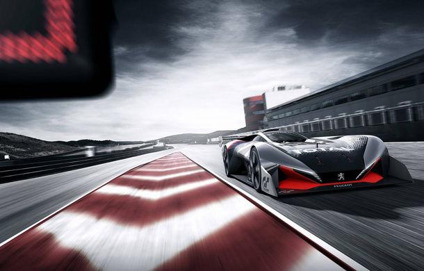 Prototip pentru pasionații de jocuri video: Peugeot a prezentat noul L750 R Hybrid Vision Gran Turismo - Poza 2