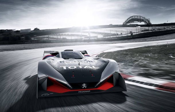 Prototip pentru pasionații de jocuri video: Peugeot a prezentat noul L750 R Hybrid Vision Gran Turismo - Poza 10