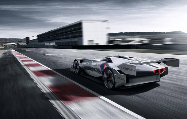 Prototip pentru pasionații de jocuri video: Peugeot a prezentat noul L750 R Hybrid Vision Gran Turismo - Poza 8