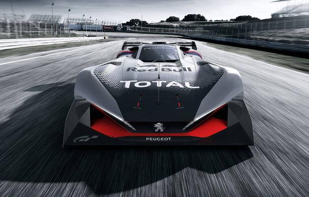 Prototip pentru pasionații de jocuri video: Peugeot a prezentat noul L750 R Hybrid Vision Gran Turismo - Poza 4