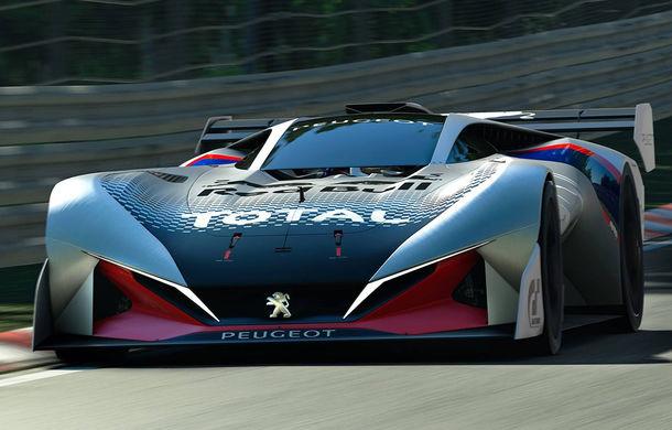 Prototip pentru pasionații de jocuri video: Peugeot a prezentat noul L750 R Hybrid Vision Gran Turismo - Poza 3