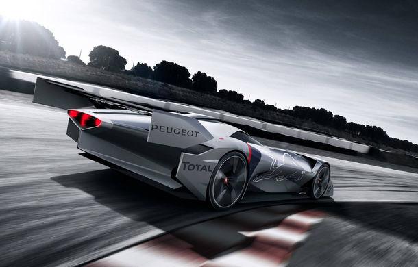 Prototip pentru pasionații de jocuri video: Peugeot a prezentat noul L750 R Hybrid Vision Gran Turismo - Poza 9