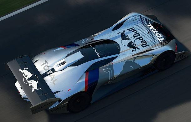 Prototip pentru pasionații de jocuri video: Peugeot a prezentat noul L750 R Hybrid Vision Gran Turismo - Poza 6