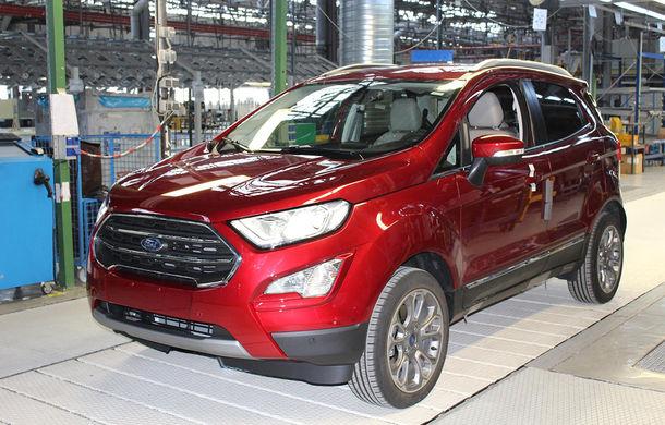 Un nou start: Fabrica Ford din Craiova a produs astăzi primul exemplar EcoSport european - Poza 7
