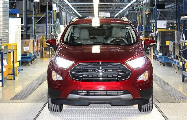 Un nou start: Fabrica Ford din Craiova a produs astăzi primul exemplar EcoSport european - Poza 8