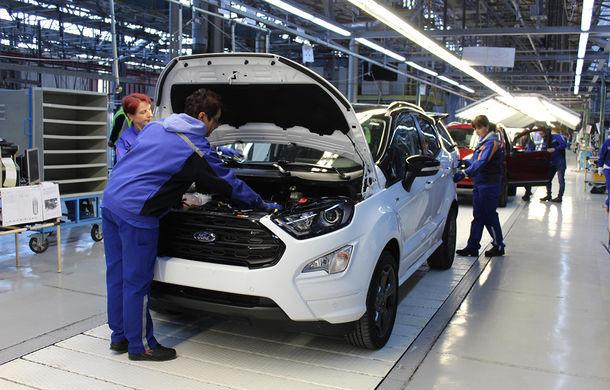 Un nou start: Fabrica Ford din Craiova a produs astăzi primul exemplar EcoSport european - Poza 4