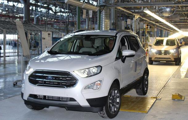 Un nou start: Fabrica Ford din Craiova a produs astăzi primul exemplar EcoSport european - Poza 2