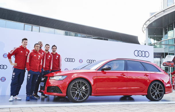 Jucătorii lui Bayern Munchen și-au ales noile mașini pentru acest sezon: Audi RS6 Avant, modelul preferat al fotbaliștilor - Poza 1