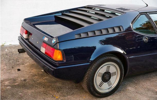 Legendă vie: un BMW M1 din 1981 cu 13.000 de kilometri la bord costă 658.000 de dolari pe eBay - Poza 5