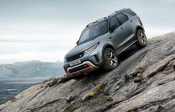 Gânduri mari: Grupul Jaguar Land Rover plănuiește mai multe modele SVX pentru pasionații de off-road - Poza 1