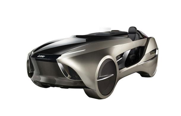 Mitsubishi Electric lansează EMIRAI 4 Concept: prototipul debutează în cadrul Salonului Auto de la Tokyo - Poza 1