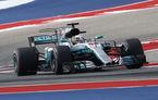 Hamilton câștigă la Austin și este aproape de un nou titlu. Mercedes, campioană la constructori