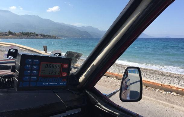 """Noi și Geta în """"24 Hours Rally of Greece"""": am concurat într-un Le Mans al mașinilor clasice - Poza 21"""