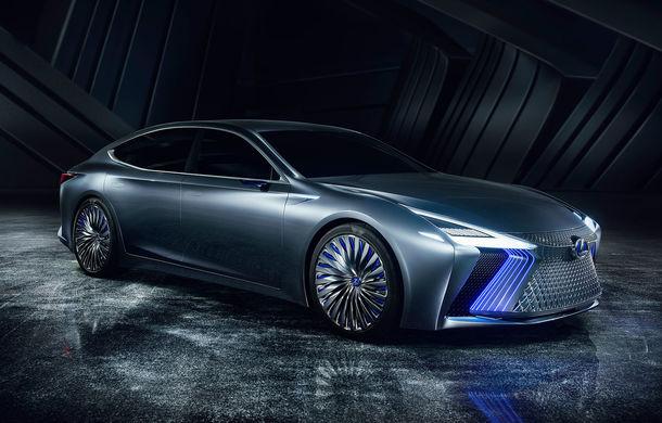 Lexus LS+: conceptul cu funcții autonome care prefigurează designul viitoarelor limuzine Lexus - Poza 1