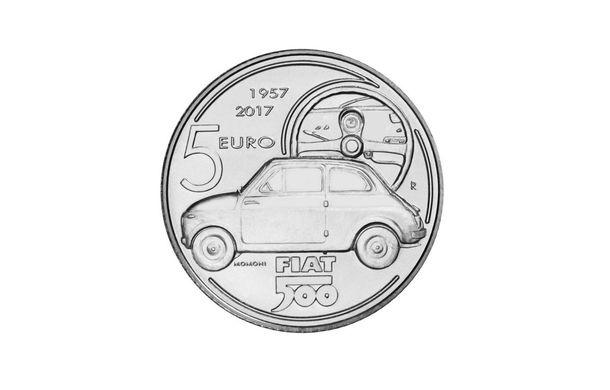 Ediție aniversară: italienii produc 4.000 de monede din argint în cinstea lui Fiat 500 - Poza 1