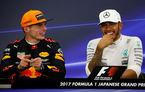 """Hamilton vede în Verstappen un rival la titlu pentru 2018: """"Max așteaptă să-mi ia locul"""""""