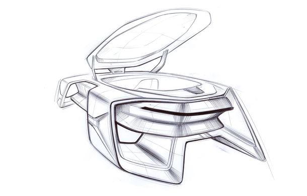 Dacia EF-Vision 2050: un concept Dacia pentru un viitor ultra-tehnologizat, dar fidel caracterului accesibil - Poza 21