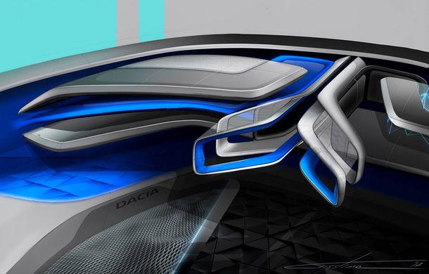 Dacia EF-Vision 2050: un concept Dacia pentru un viitor ultra-tehnologizat, dar fidel caracterului accesibil - Poza 15