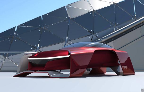 Dacia EF-Vision 2050: un concept Dacia pentru un viitor ultra-tehnologizat, dar fidel caracterului accesibil - Poza 6