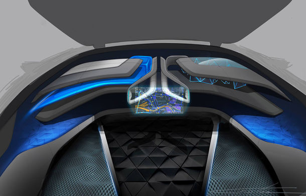 Dacia EF-Vision 2050: un concept Dacia pentru un viitor ultra-tehnologizat, dar fidel caracterului accesibil - Poza 16
