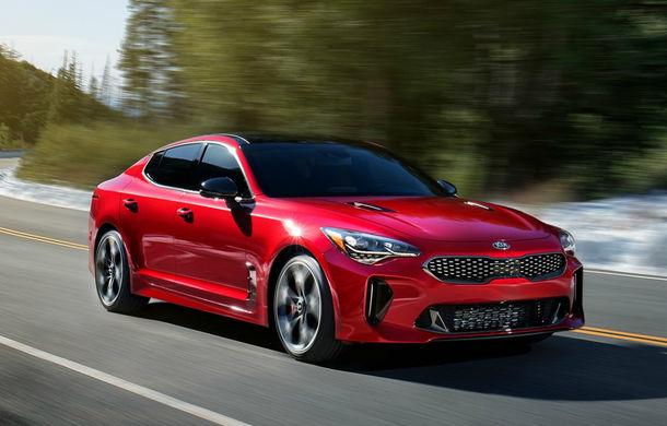 Stinger, cel mai rapid Kia din istorie, este disponibil în România: prețul de pornire este de 33.800 de euro cu TVA - Poza 1