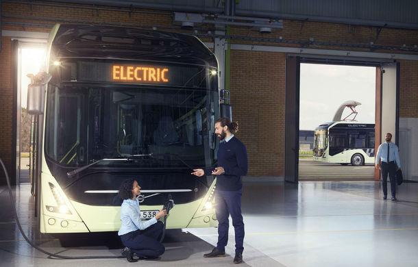 Suedezii au lansat o nouă generație de autobuze electrice: Volvo 7900 Electric are o autonomie de până la 200 de kilometri - Poza 1