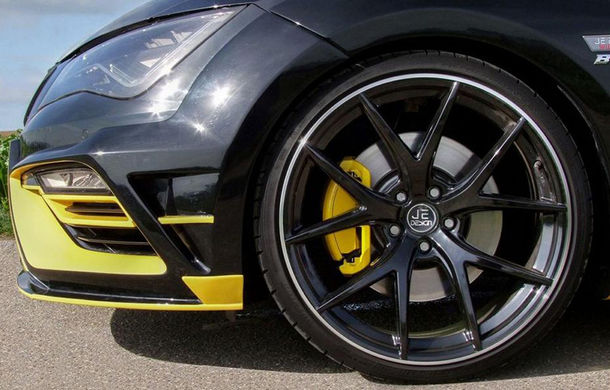 Je Design lansează un pachet de performanță pentru Seat Leon Cupra 300: 380 de cai putere și viteză maximă de 285 km/h - Poza 6
