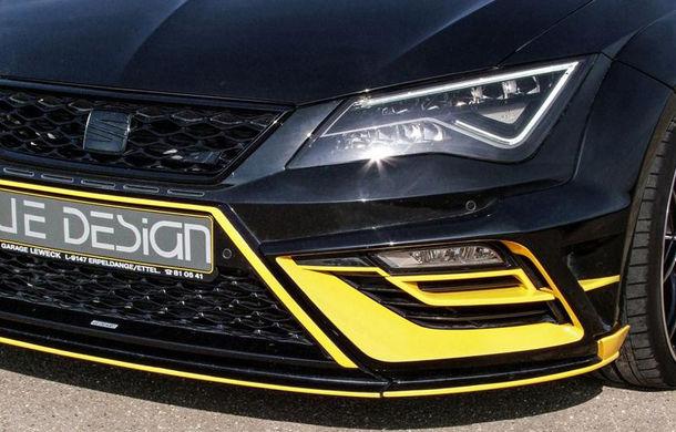 Je Design lansează un pachet de performanță pentru Seat Leon Cupra 300: 380 de cai putere și viteză maximă de 285 km/h - Poza 3