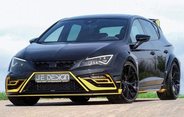 Je Design lansează un pachet de performanță pentru Seat Leon Cupra 300: 380 de cai putere și viteză maximă de 285 km/h - Poza 1