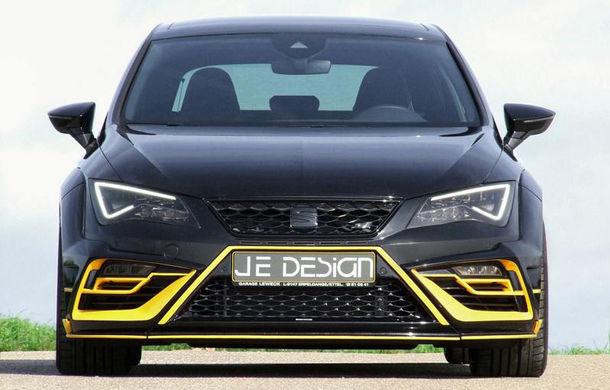 Je Design lansează un pachet de performanță pentru Seat Leon Cupra 300: 380 de cai putere și viteză maximă de 285 km/h - Poza 2