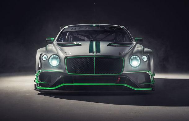 Bentley prezintă noul Continental GT3: are un V8 de peste 550 de cai și este mai ușor cu aproape o tonă față de versiunea de stradă - Poza 1