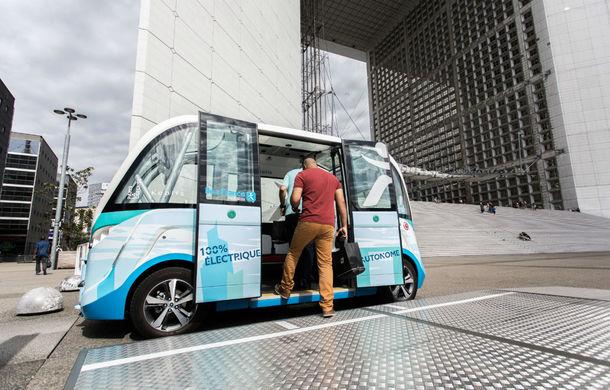 Robo-taxi: un start-up din Franța vrea să lanseze un vehicul fără șofer, cu capacitate de 6 persoane și un preț de 250.000 de euro - Poza 1